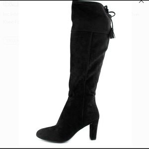 INC International Concepts Suede Over Knee Boots